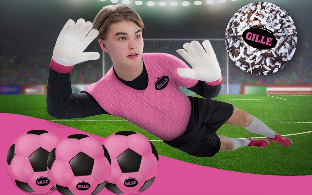 Tävling: Hitta på en hejaramsa och vinn en rosa Gillefotboll!